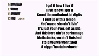 N.E.R.D & Rihanna - Lemon  ft. Drake (Official Lyrics) [REMIX]