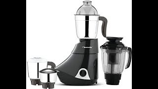 Reviewing butterfly rapid mixer grinder