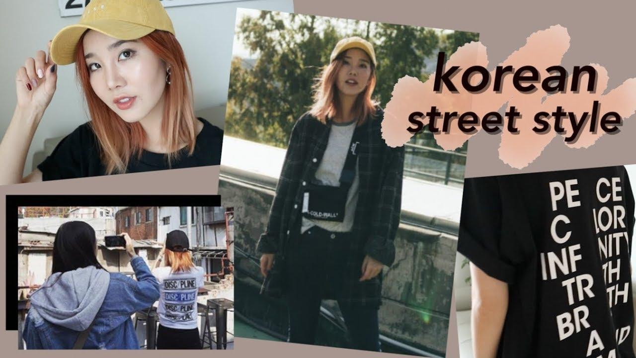 Korean Fashion Try On Haul Seoul Street Style Youtube