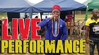 LIVE PERFORMANCE OF CHIEF ONYENZE NWA AMOBI AT RIVER STATE - Nigerian Highlife Music