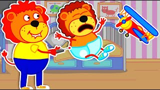 Lion Family Official Channel I Don't Want to Sleep - Bedtime Song | Cartoon for Kids