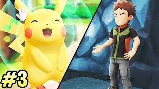 BROCK ESTÁ RE DURO 💥 Pokémon Let's Go #3