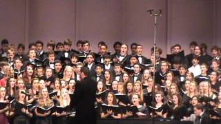 2012 FL All-State Concert Choir - The Moon is Distant From the Sea