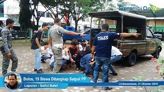 Bolos, 19 Siswa Ditangkap Satpol PP