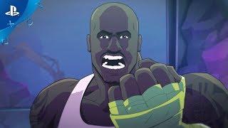 Shaq Fu: A Legend Reborn - Date Announce Trailer | PS4