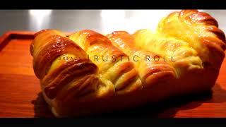 Rustic Orange Bread Roll | STEY Baking
