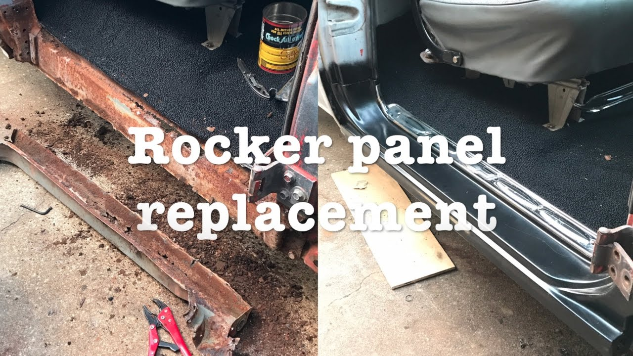 2 Rocker Panel Replacement Youtube
