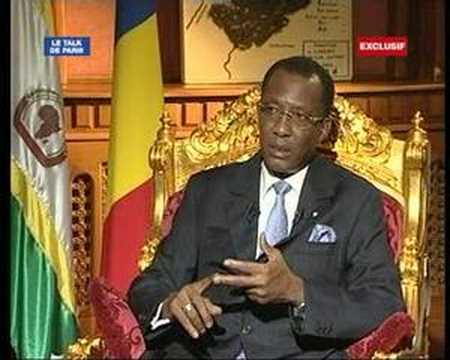 Un dialogue inclusif?Idriss déby sur France 24
