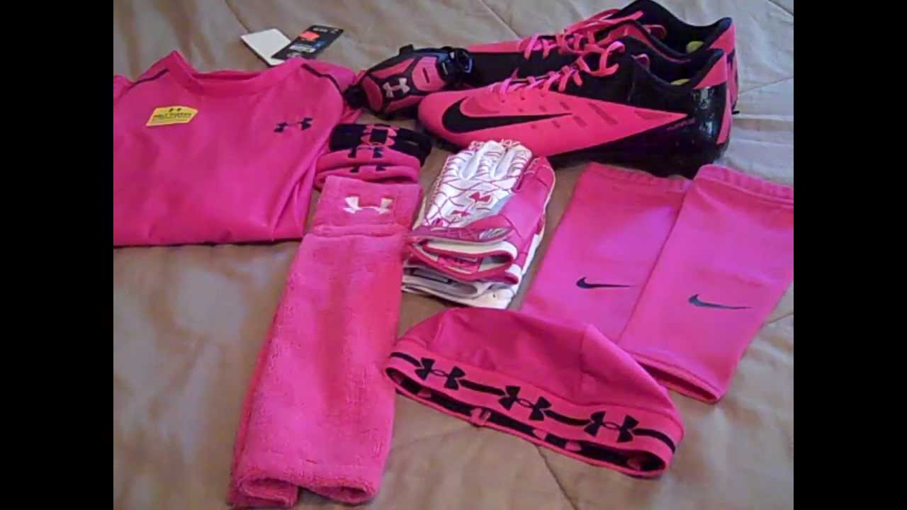 Breast Cancer Football Gear Youth