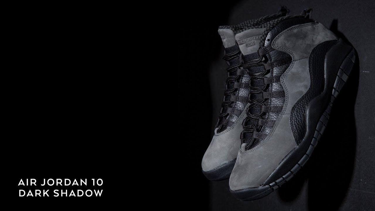 cozy fresh 5cd24 6a9d1 FIRST LOOK  Air Jordan 10  Dark Shadow    SHIEKH