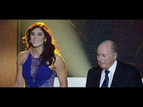 Vorwurf gegen Ex-FIFA-Boss: Ex-Torhüterin wirft Sepp Blatter sexuelle Belästigung vor