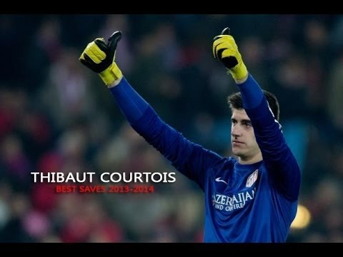 Thibaut Courtois | Best Saves | ATLETICO MADRID 2013-2014 HD