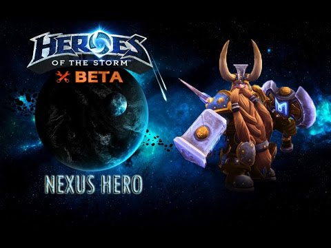 видео: heroes of the storm: nexus hero #1 - Мурадин