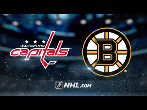 Wilson, Holtby power Capitals past Bruins, 3-2