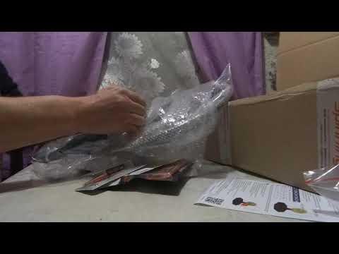 Распаковка очередной посылки от интернет-магазина Spinningline.