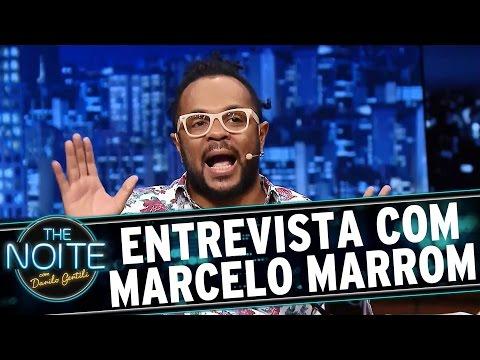 The Noite (04/03/16) - Entrevista Com Marcelo Marrom
