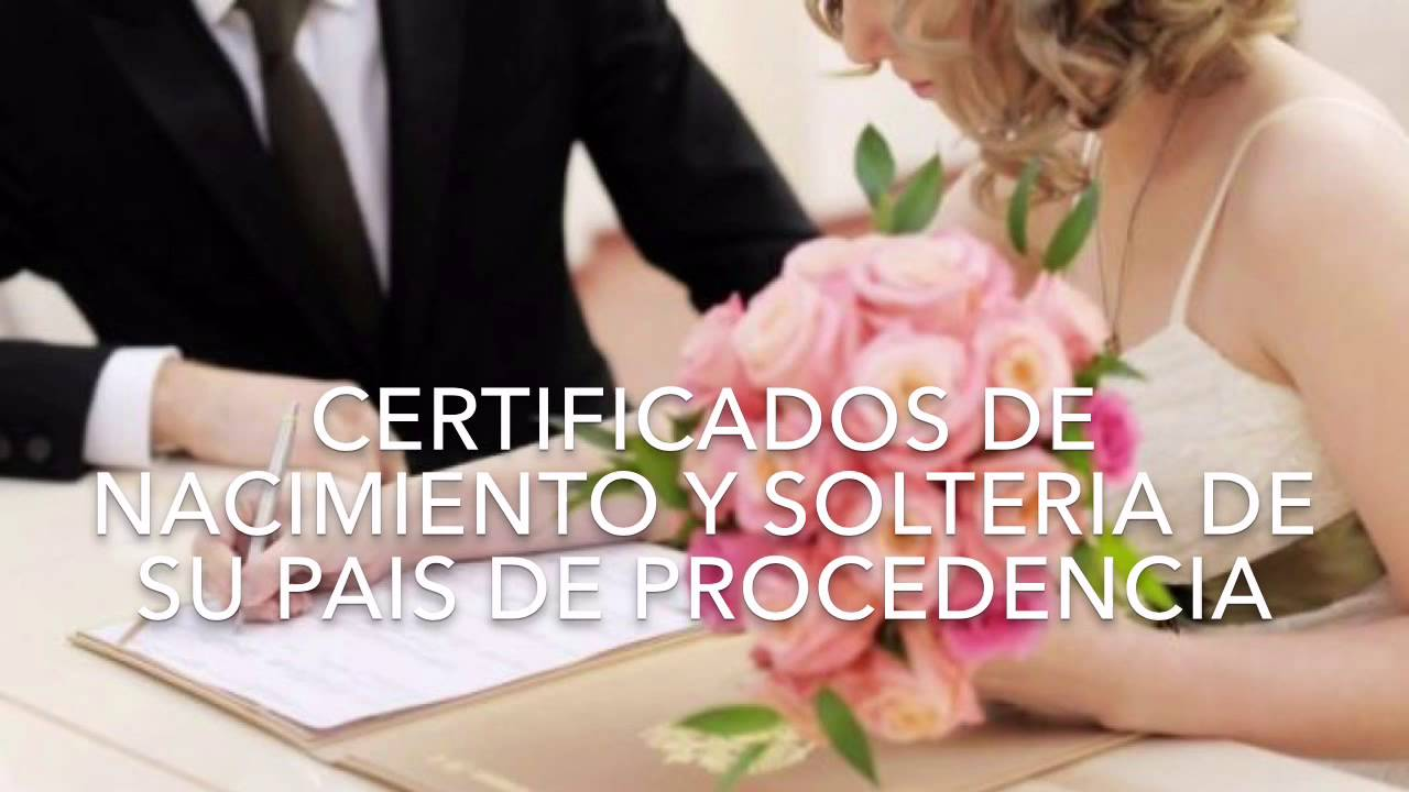Requisitos Matrimonio Catolico Bogota : Requisitos para matrimonio civil en panamá notaria youtube