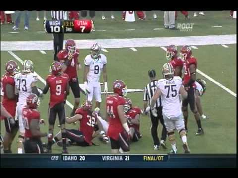 (10-1-2011) Washington Huskies vs. Utah Utes Football