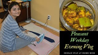 #Vlog 2018: Pleasant Weekday Evening | Indian Mom Multitasking Evening Routine | Real Homemaking