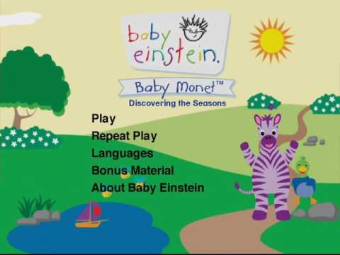 Baby Monet Dvd Menu Youtube