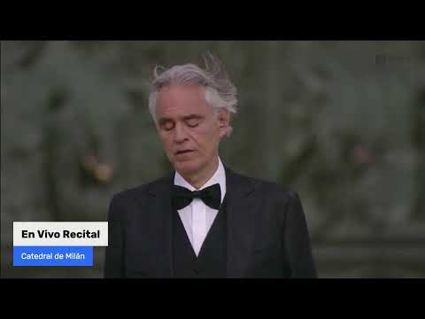 Transmisión en vivo | Recital de Andrea Bocelli desde la catedral de Milán, Domingo de Resurrección