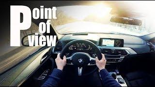 [JUST DRIVE] 2018 BMW X3 M-Sport G01 POV city drive and 0-100 km/h test