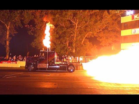 Bob Motz Jet Truck #1  Raceway Park Diesel Truck Nats 2015