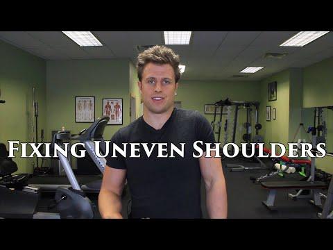 How To Fix Uneven Shoulders | Asymmetrical Shoulder Elevation