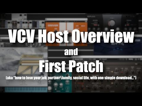 VCV Host Overview & First Patch Mp3