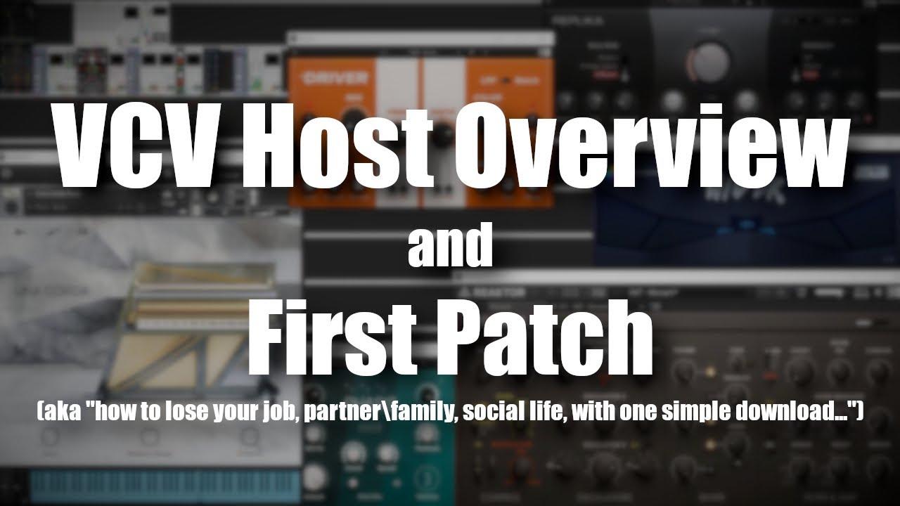 VCV Host & Host FX Overview & Demo – Synthtopia