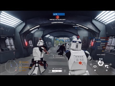 Star Wars Battlefront 2 Capital Supremacy 1 Arc Trooper Gameplay