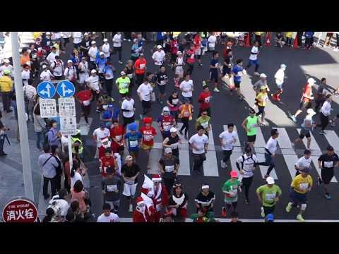 第35回NAHAマラソン2019 蔡温橋交差点2