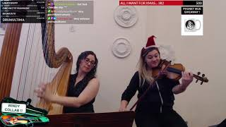 HARP and VIOLIN Improvised Original - Phunk Phiddler