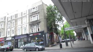Ladbroke Grove and Underground Station in London