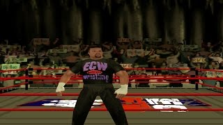 ECW Anarchy Rulz - Tommy Dreamer (Career Mode) Part 1 (PS1)