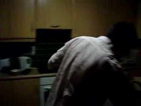 daniel keyes drinking washing up liquid!!