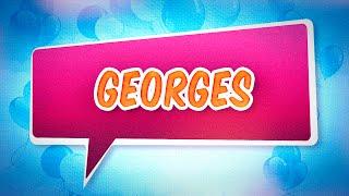 Joyeux anniversaire Georges