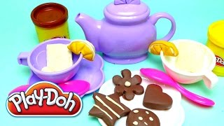 Play-Doh Tea for Two - Fun and Safe Tea Party Play Set Thumbnail