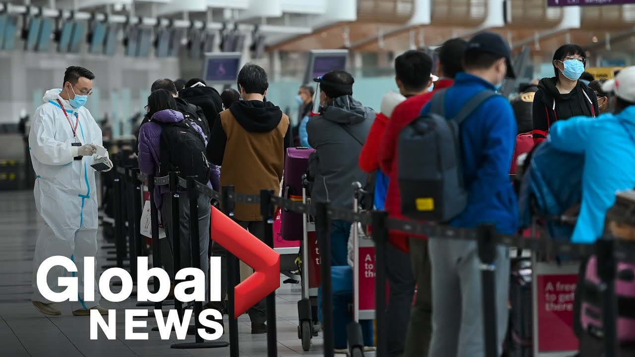 Coronavirus Critics Call On Canada To Changes Rules Around Point Of Entry Quarantine Youtube