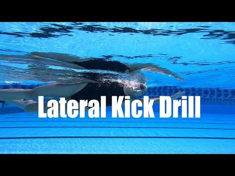 Lateral Kick Drill