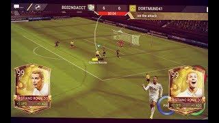 FIFA Mobile 18 Preseason 99 OVR Ronaldo Gameplay & Giveaway!! *INSANE* Highlights w/ BLOOPERS!