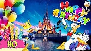 H.a.p.p.y B.ii.r.t.h.d.a.y Big D [ Donald Duck ] 80 Jahre