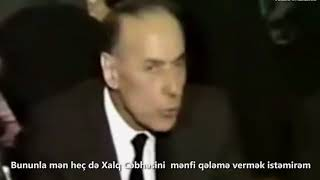 """Laçın Məmişovun """"Böyük Oyun"""" və """"Kəlbəcər düyünü"""" filmindən fraqment"""
