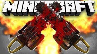 Minecraft: CHAINSAW MASSACRE! (Hunger Games w/Guns) - w/Preston & Woofless