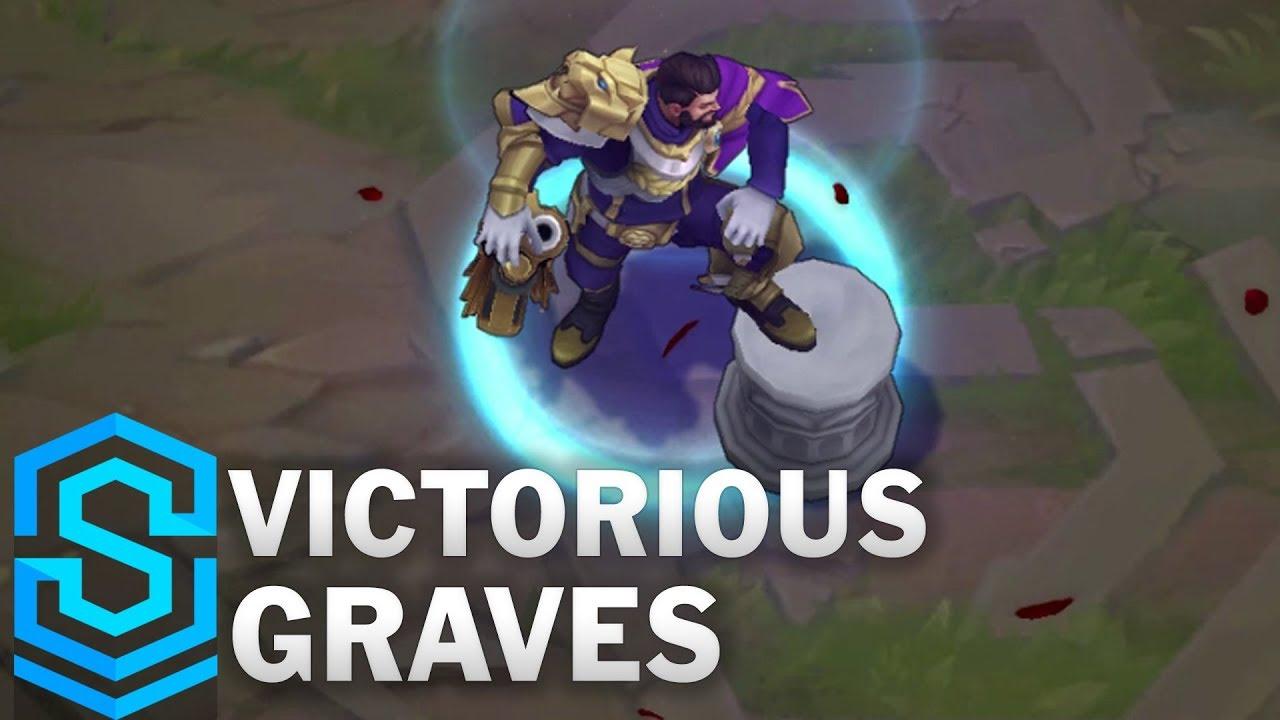 Victorious Graves Skin Spotlight Pre Release League Of Legends