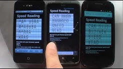 Windows Phone Browser Speed Test