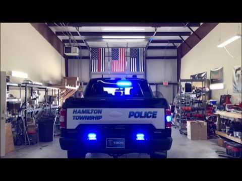 2019 Police Responder Ford F-150 | Hamilton Twp. Police Dept., SoundOff BluePrint Build