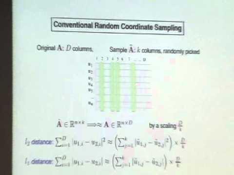 Sampling Techniques for Massive Data