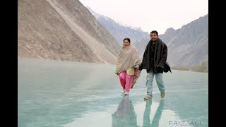 Frozen Attabad Lake in Winters | Gojal Valley | Hunza | Pakistan