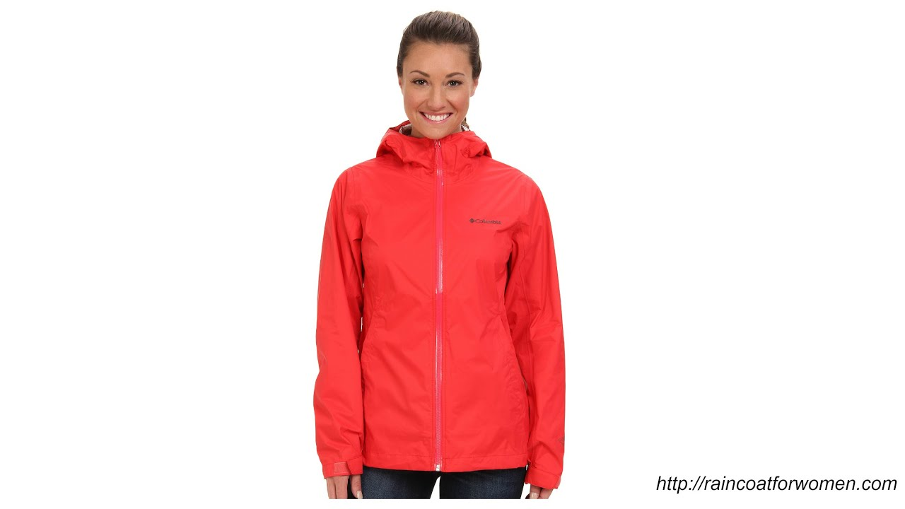 Lightweight Womens Rain Jacket Designer Jackets